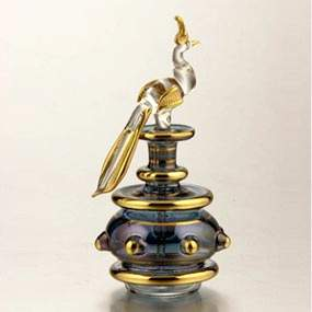 Animal Glass Perfume Bottle