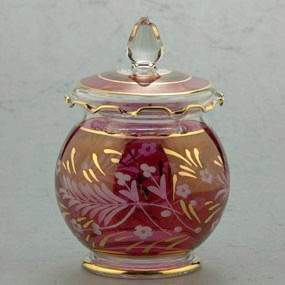 Large Blown Glass Candy Dish