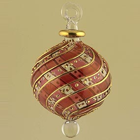 Glass Large Christmas Ornament