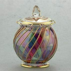 Medium Glass Candy Dish