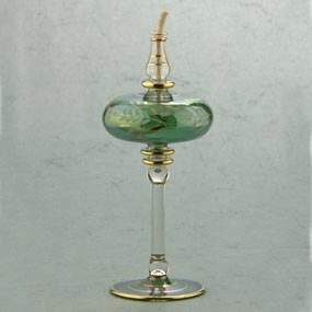 Glass Oil Burners and Oil Lamps