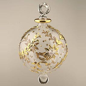 Glass XLarge Christmas Ornament