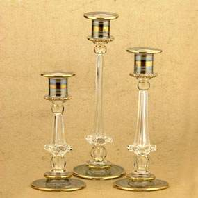 Triple Candle Holders