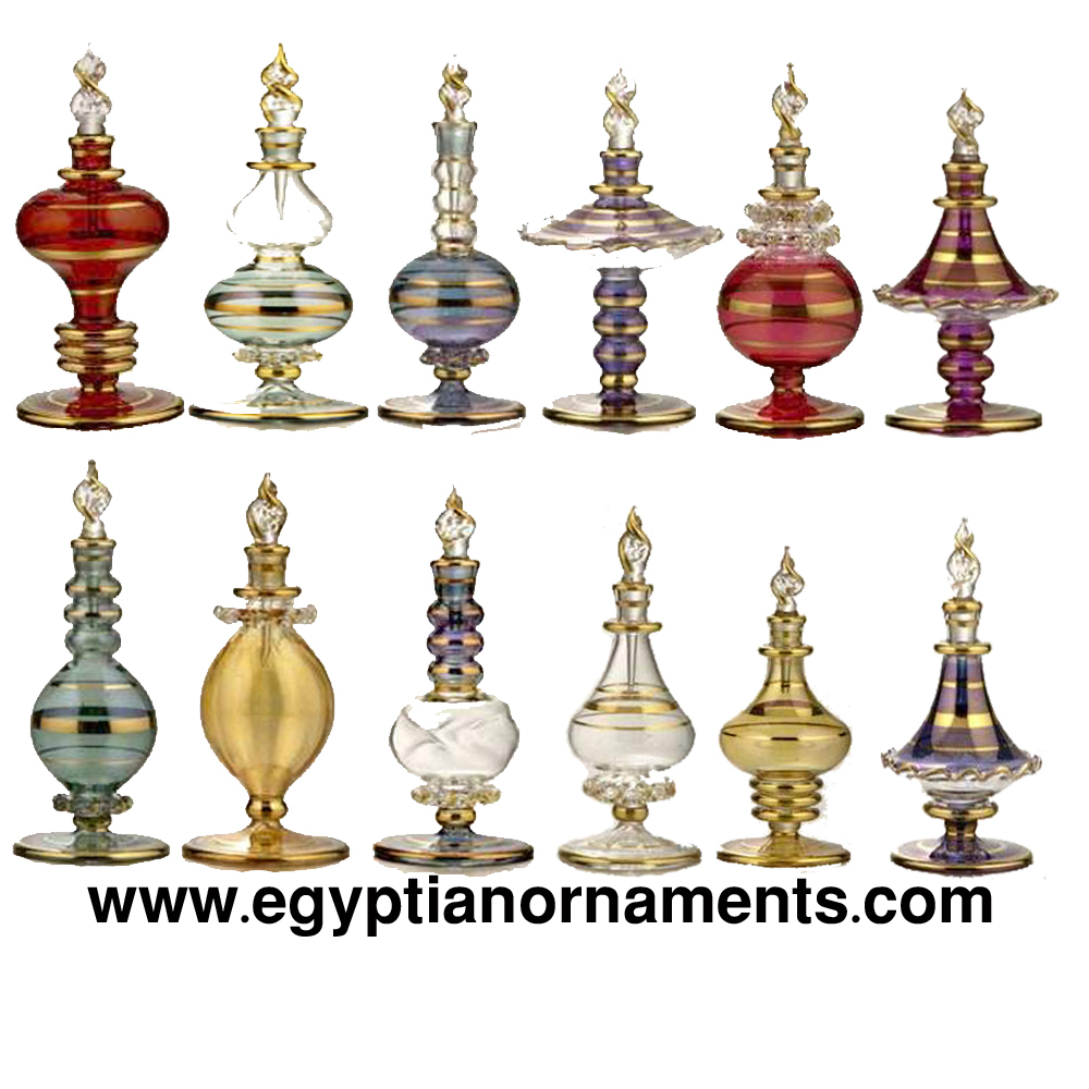 Wholesale Hand Blown Glass Perfume Bottles